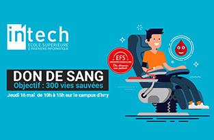 Participez au challenge SANG POUR CENT                     – OBJECTIF SAUVER 300 VIES